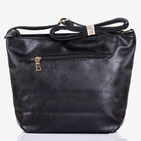 Большая черная сумка через плечо - Сумки