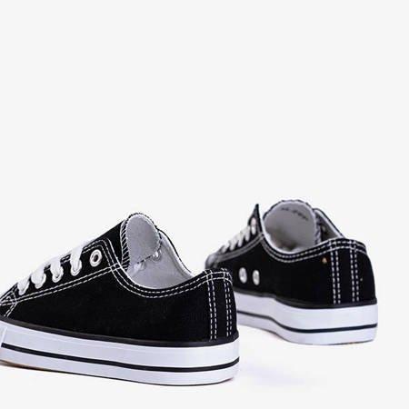 Детские кроссовки Franklin Black and White - Обувь