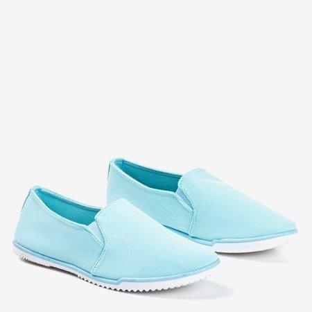 Детские синие слипоны Jess - Обувь