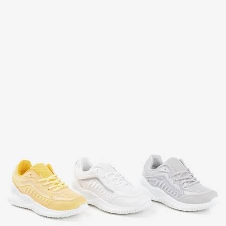 Желтая спортивная женская обувь Aksu - Обувь