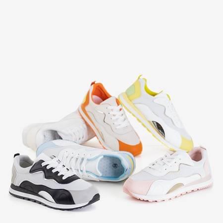 Желто-белые кроссовки Mavena - Обувь