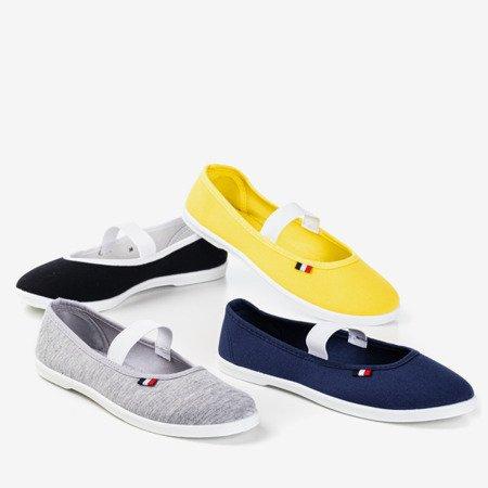 Желтые слипоны Pruna - Обувь