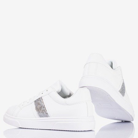 Женские белые спортивные кроссовки Hypnos - Обувь