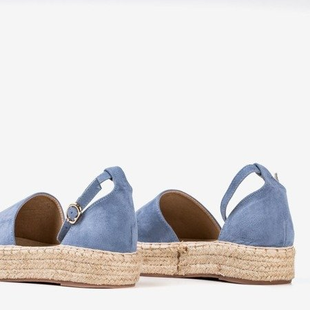 Женские синие эспадрильи на платформе Marcita - Обувь