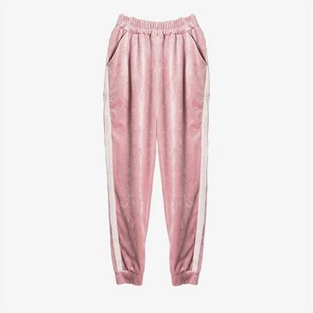 Женский розовый спортивный костюм - Одежда