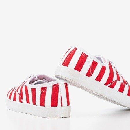 Красные женские мокасины Anchor - Обувь