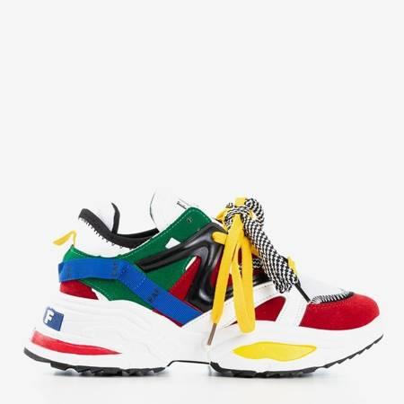 Разноцветные женские кроссовки Eafi на толстой подошве - Обувь