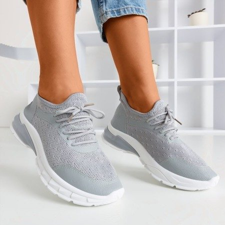 Светло-серая женская спортивная обувь Baymela - Обувь