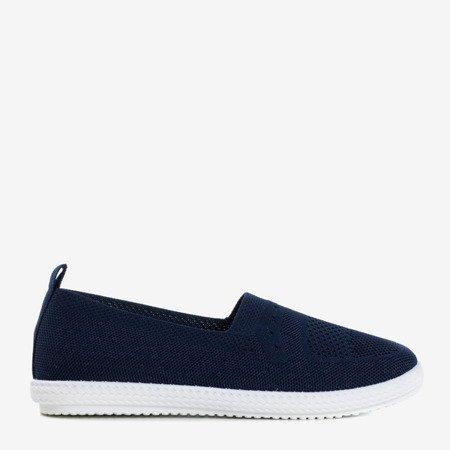 Спортивные слипы Tolva темно-синие на туфлях Обувь