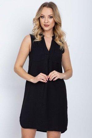 Черное платье без рукавов - Одежда