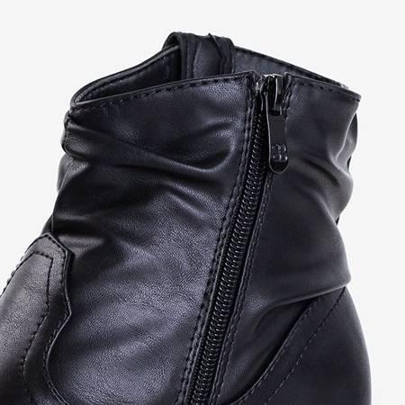 Черные женские ковбойские сапоги с декором Adelia - Обувь