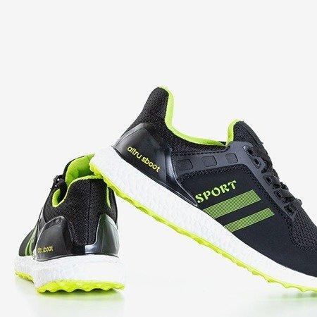 Черные и зеленые женские кроссовки Birala - Обувь