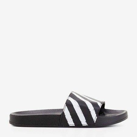 Черные резиновые тапочки Aslan - Обувь
