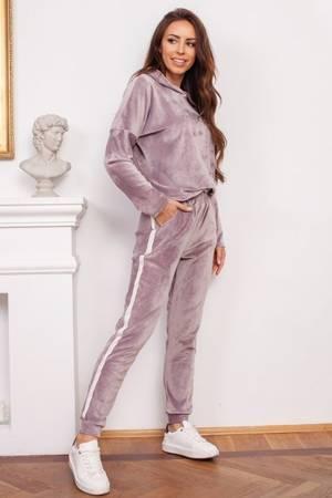 женский фиолетовый спортивный костюм - Одежда