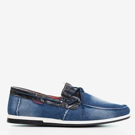 темно-синие джинсовые лоферы Rais для мужчин - Обувь