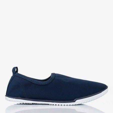 темно-синие слипоны Maywood для женщин - Обувь