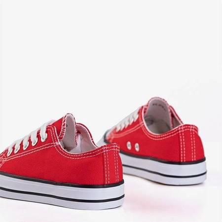 OUTLET Красные детские кроссовки Franklin - Обувь