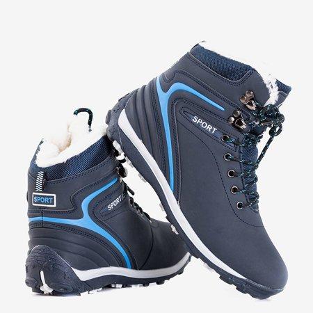 Женские походные ботинки темно-синего цвета Nister - Обувь