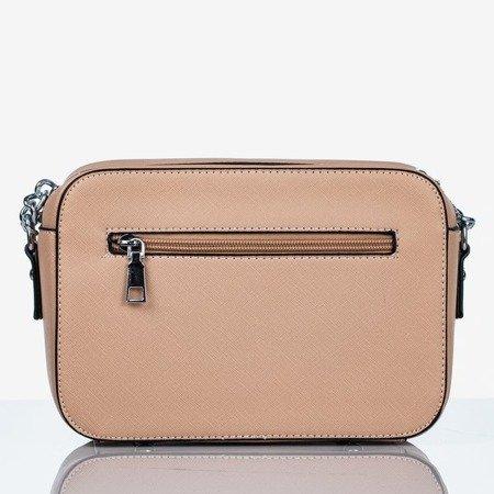 Бежева маленька сумка на плечі - Сумки 1