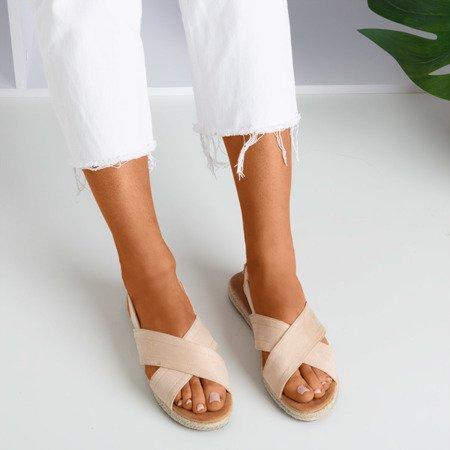 Бежеві жіночі босоніжки Cosilia - Взуття 1