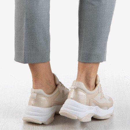 Бежеві жіночі кросівки Dossa - Взуття 1