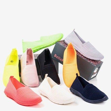 Бежеві жіночі мокасини Colorful - Взуття.