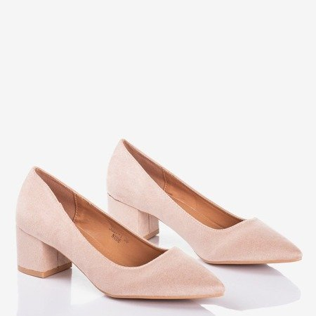 Бежеві насоси на нижній штангу Royale - Взуття 1