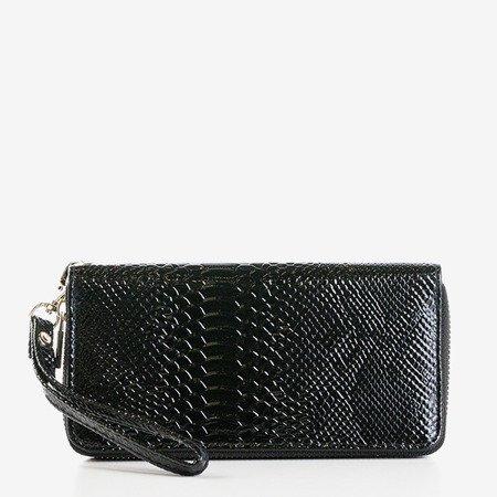 Бургундський жіночий гаманець з квітами - Гаманець 1