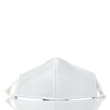 Біла 3-шарова маска для обличчя - Маски
