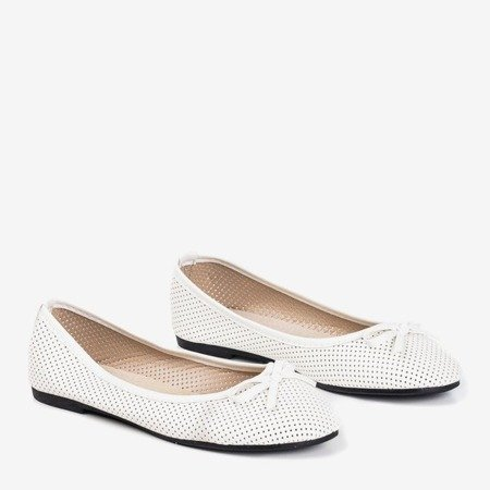 Білі дитячі балерини Lavisca - Взуття