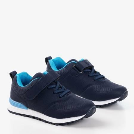 Дитяче взуття темно-синього кольору з матової екологічної шкіри Craizy - Взуття 1
