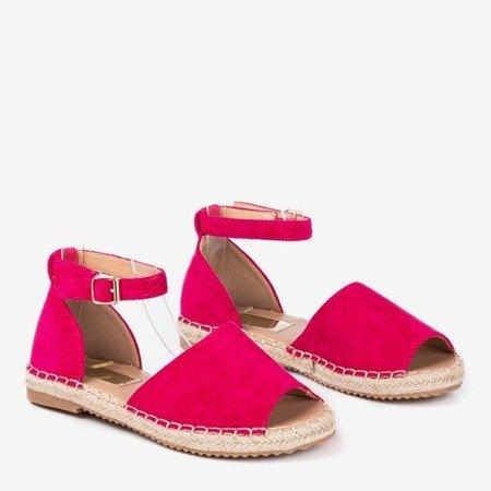Еспадрилі Фуксія з королівським вирізом - Взуття 1