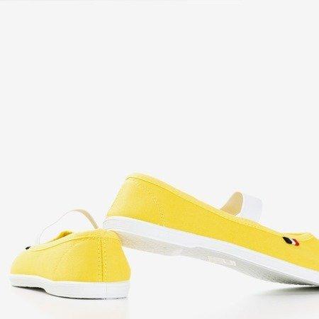 Жовті кросівки Pruna - Взуття