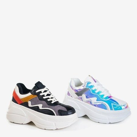 Жіноче взуття різнокольорове на платформі Dabi - Взуття