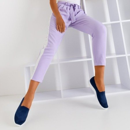 Жіноче темно-синє ковзання на Codir - Взуття