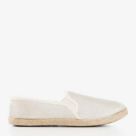 Жіночі бежеві еспадрилі з джутовим шнуром Kallos - Взуття