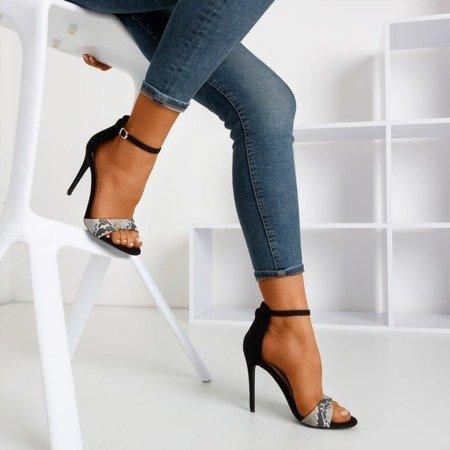 """Жіночі босоніжки на високих підборах """"Золота піка"""" - Взуття 1"""
