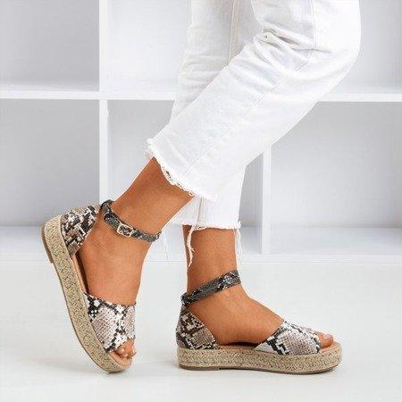 """Жіночі босоніжки """"Змія"""" a'la espadrilles Дійсно Ваш - Взуття 1"""
