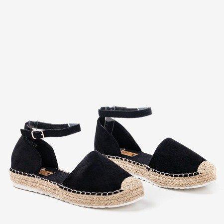 Жіночі чорні еспадрільї на платформі Citiva - Взуття