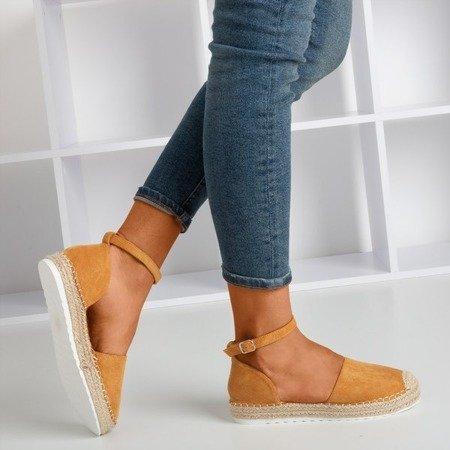Коричневі жіночі еспадриси на платформі Citiva - Взуття 1