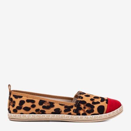Коричневі жіночі еспадрільї а-ля леопард Фулімпа Фултон - Взуття
