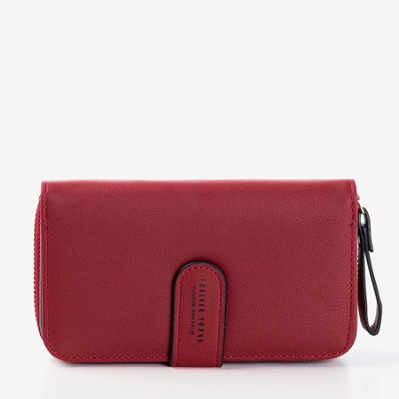 Маленький класичний червоний гаманець - Гаманець