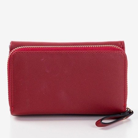Невеликий бордовий гаманець для жінок - Гаманець
