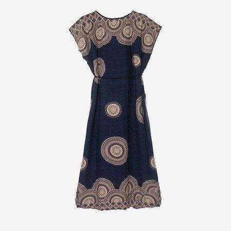 Плаття в темно-єгипетському стилі - Одяг 1