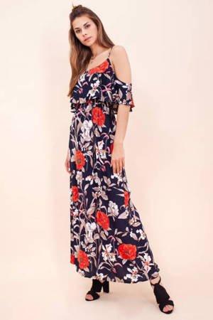 Плаття з темно-максі-флорі - Одяг 1