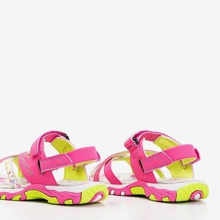 Рожеві жіночі босоніжки Esteban - Взуття
