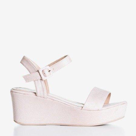 Світло-рожеві босоніжки Lysnes - Взуття