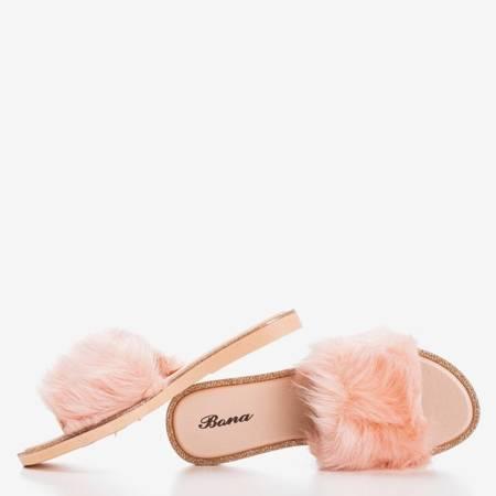 Світло-рожеві шльопанці «Градо» - Взуття 1