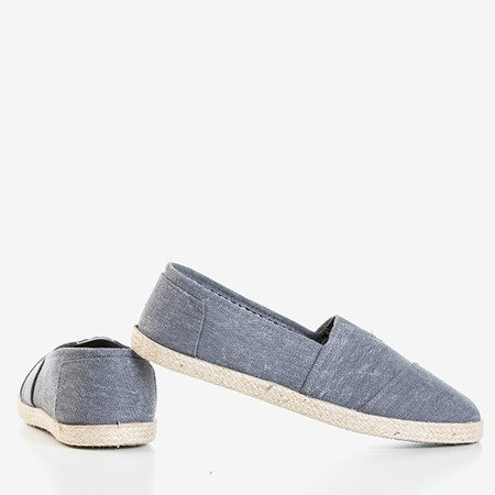 Сірі еспадрили з смугастими Тімсами - Взуття 1