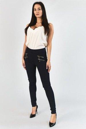 Темно-сині жіночі штани на блискавці - Одяг 1